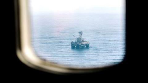 Med nokre veker til hjelp var det akkurat eit slikt sett av informasjon ein lykkast i å oppdrive for Goliat-feltet, skriver forfatteren. Her fra Scarabeo 8 på Goliat i Barentshavet. Foto: Marius Fiskum