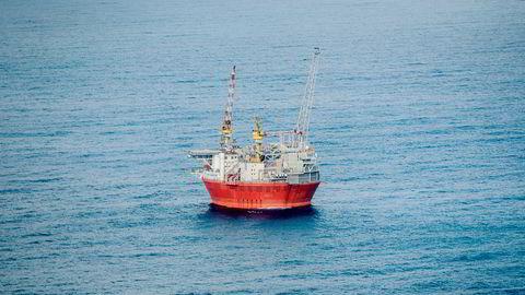 Oljeplattformen Goliat i Barentshavet.
