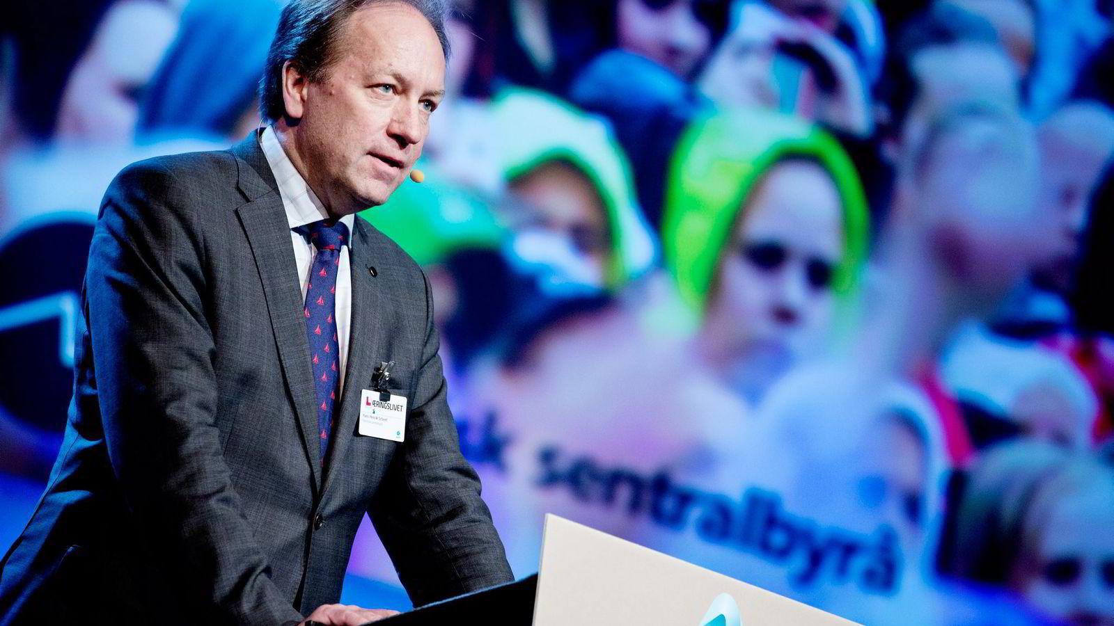 Hans Henrik Scheel har ledet skatteutvalget som i dag leverer sin innstilling.