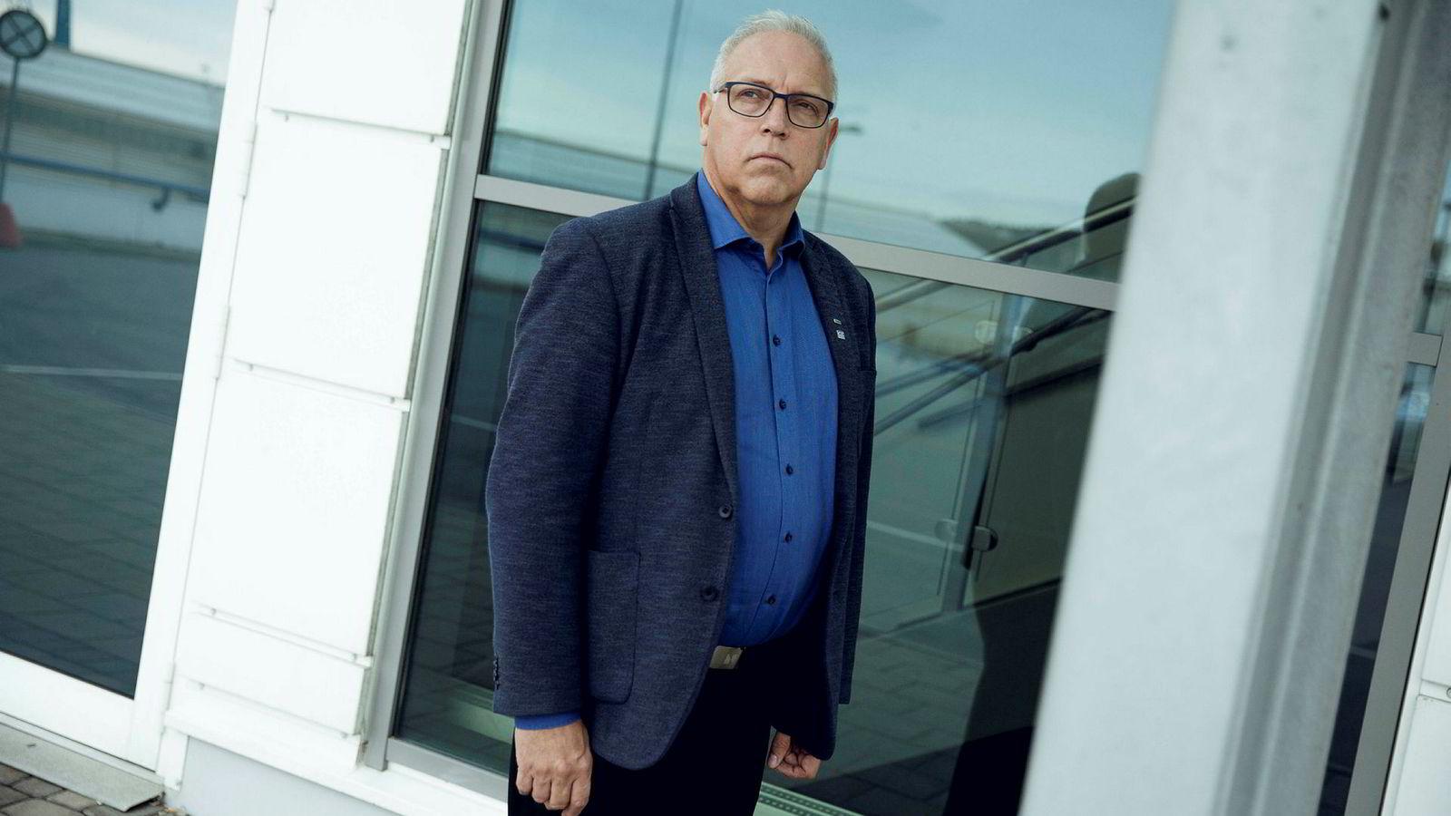 Forbundsleder Audun Ingvartsen i Lederne synes det er grunn til å være bekymret når han ser hvilke ledere som tjener mest.