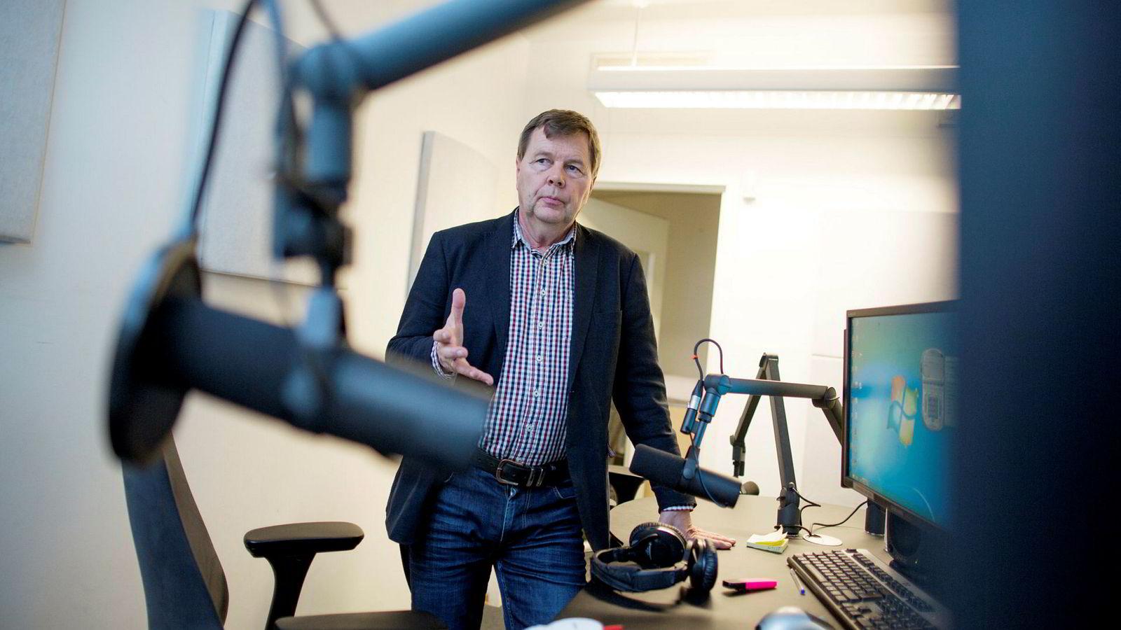 Svein Larsen er sjef i Radio Metro og i Lokalradioforbundet.