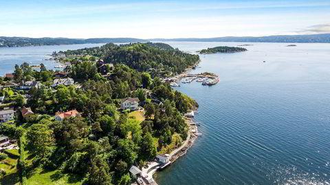 Villa Breidablikk med tilhørende strandsone på Ormøya, ble kjøpt for 55 mill. i fjor.