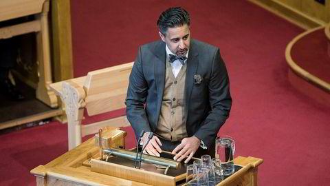 Abid Raja (V) fikk ikke bli statsråd, og skal isteden bli Venstres finanspolitiske talsperson på Stortinget.