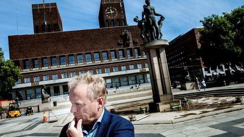 Raymond Johansen, byrådsleder for Ap i Oslo, må konstatere at partiene til venstre for ham fosser frem i hovedstaden.