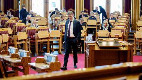 Olje- og energiminister Terje Søviknes. Foto: Øyvind Elvsborg