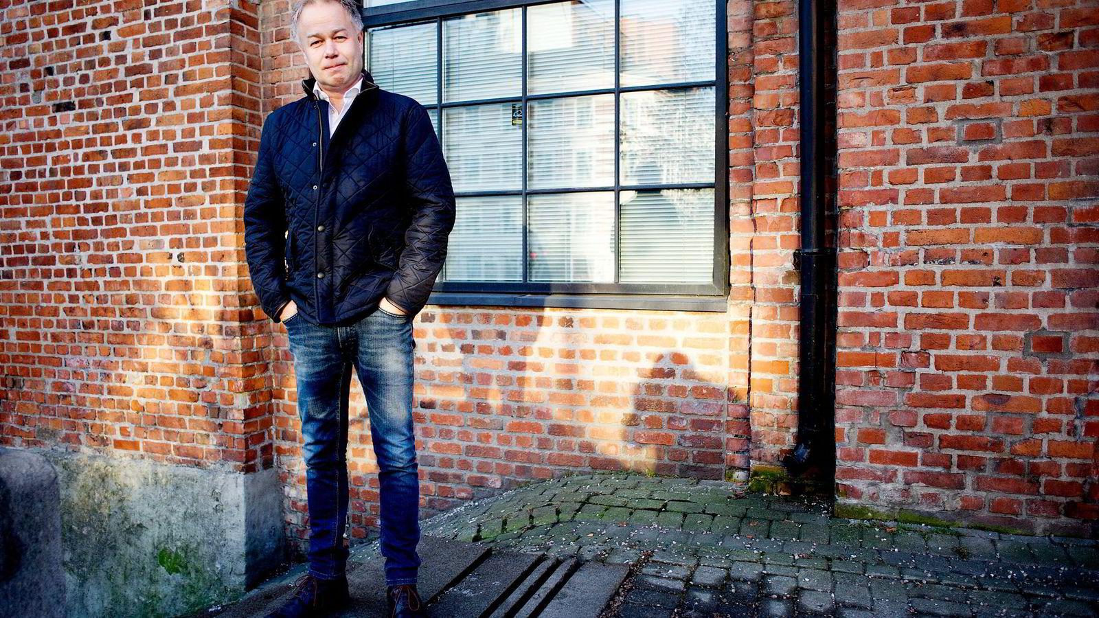 06.02 2015 Oslo Redaktør Bård Espen hansen i TV2.no har kraftig vekst på mobil. .
