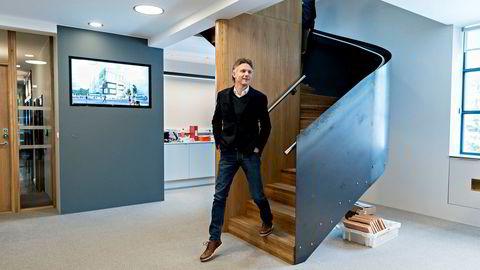 Eiendomsutvikler Alfred Ydstebø, her i sine nye lokaler i det gamle Hermetikklaboratoriet, er tilkjent erstatning i Stavanger tingrett – om enn langt mindre enn han ba om.