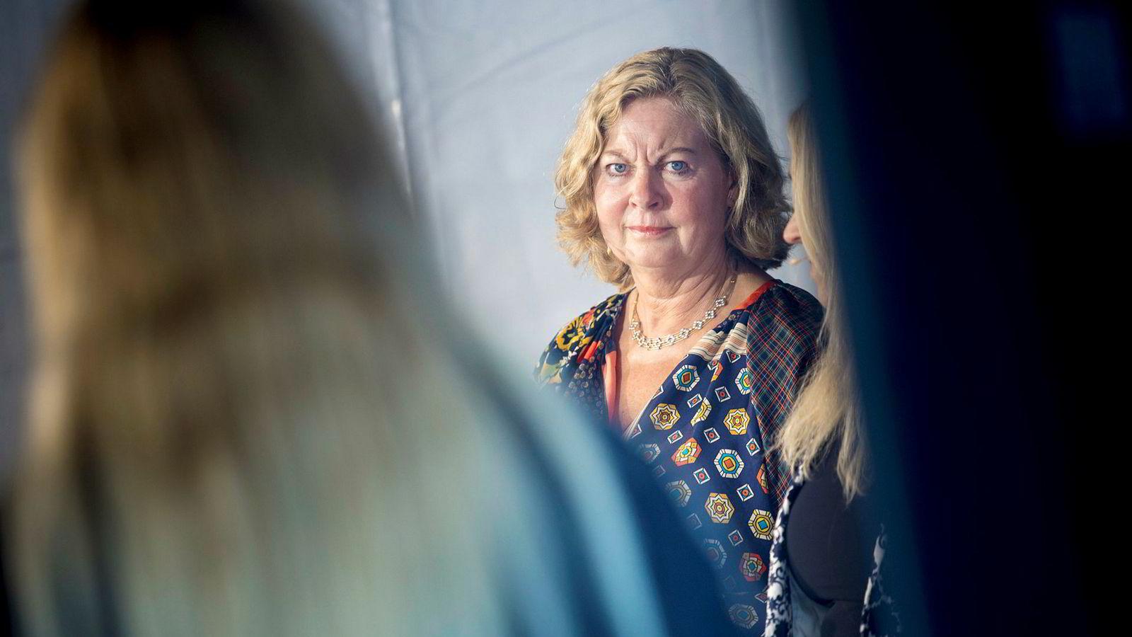 Berit Svendsen gjorde en av sine siste opptredener i offentligheten som Telenor-topp under Arendalsuka.