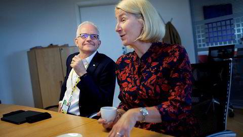 Kristin F. Kragseth leder Vår Energi, og har besøk av sin styreleder Philip Hemmens fra London. Hemmens ledet tidligere Enis norske virksomhet før fusjonen med Hitecvisions oljeselskap.