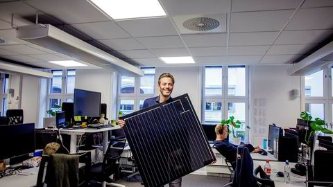 – Ifølge Solar Power Europe skal det monteres tre millioner solcelleanlegg innen 2022. Det er i praksis tre millioner håndverkerjobber. Hvordan organiserer du det, spør Andreas Thorsheim, gründer og administrerende direktør i Otovo.