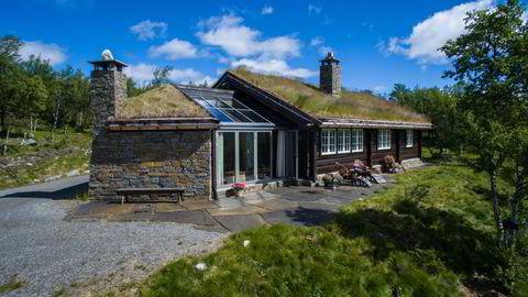 Denne hytta i Fjellsnaret / Uvdal hadde  prisantydning 5,4 millioner kroner og ble solgt for 5,3 millioner kroner i juli. FOTO: Eiendomsmegler 1