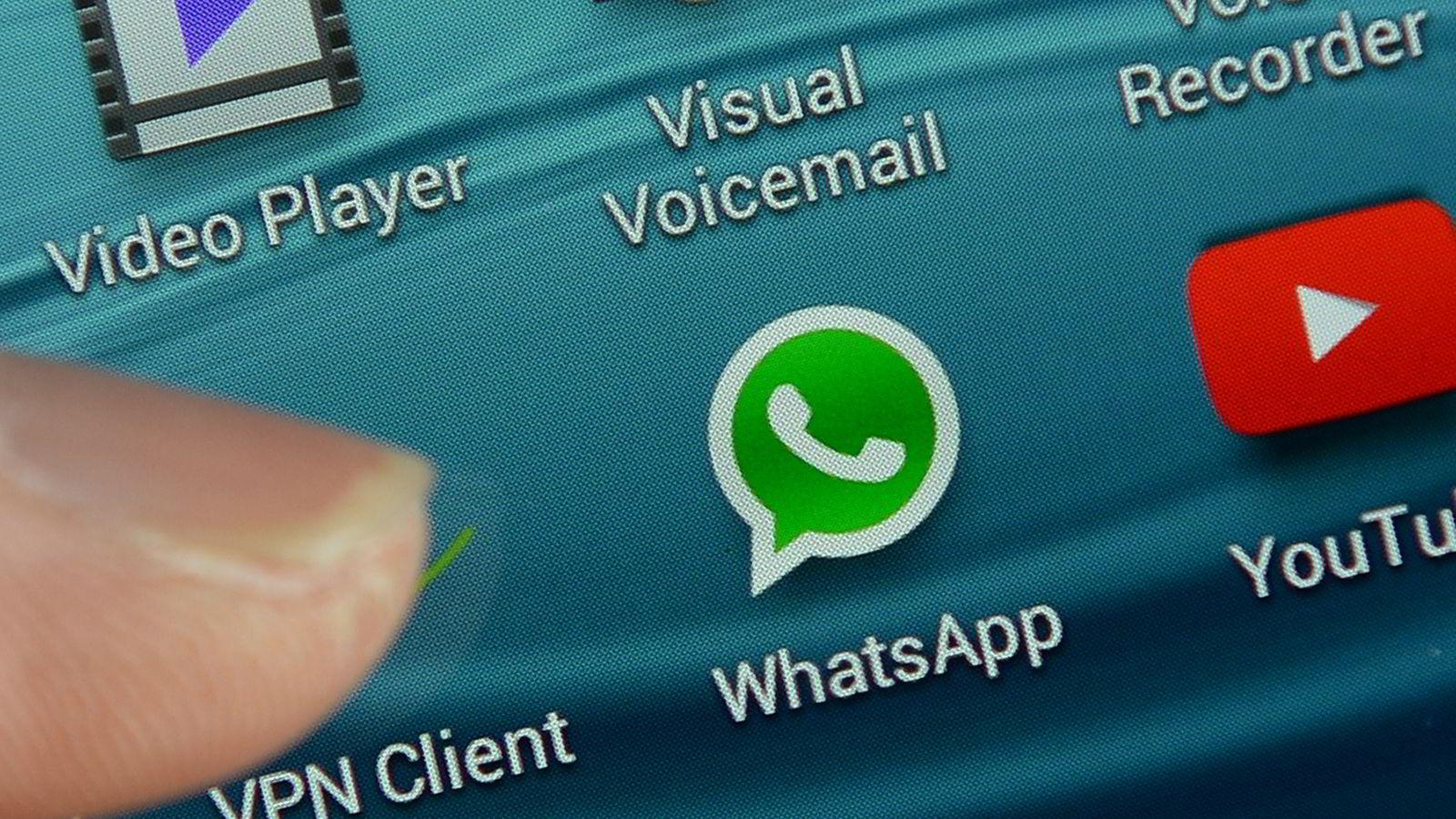 Funksjonene til stadig flere apper vil forsvinne inn i instant messaging-apper som WhatsApp, mener Bjørn Olstad. Illustrasjonsfoto: