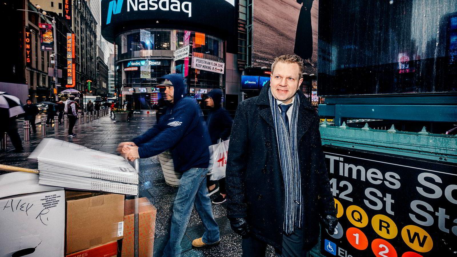Sjefstrateg Leif-Rune Rein har ikke mistet troen på videre oppgang i aksjemarkedet.