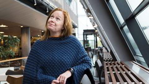 – Jeg har lært at skal man lykkes, må man konsentrere seg om den jobben man har, sier Ingeborg Øftshus, som nylig fikk jobben som teknologidirektør i Telenor.