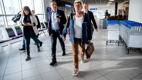 Frp-leder og finansminister Siv Jensen reiser i disse dager land og strand rundt i valgkampinnspurten. Onsdag går turen til Bergen, hvor Frp sliter med at velgerne flykter til Folkeaksjonen nei til mer bompenger (FNB).