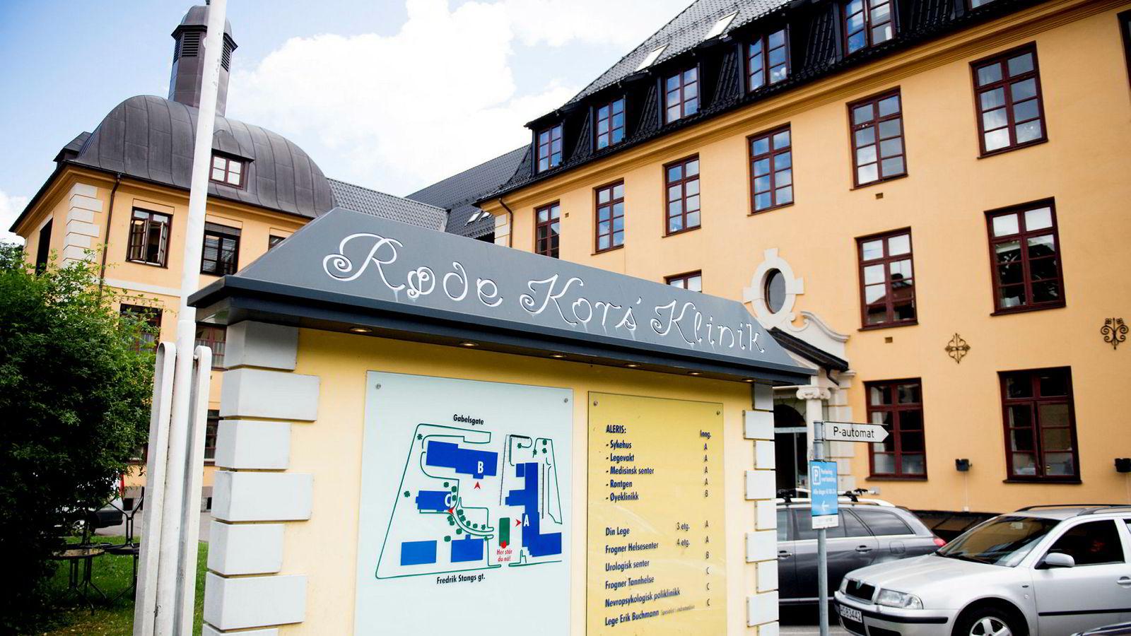 Aleris selger sine omsorgstjenester for å rendyrke helsesatsningen, ifølge selskapet. Bildet viser Aleris sykehus i Oslo.