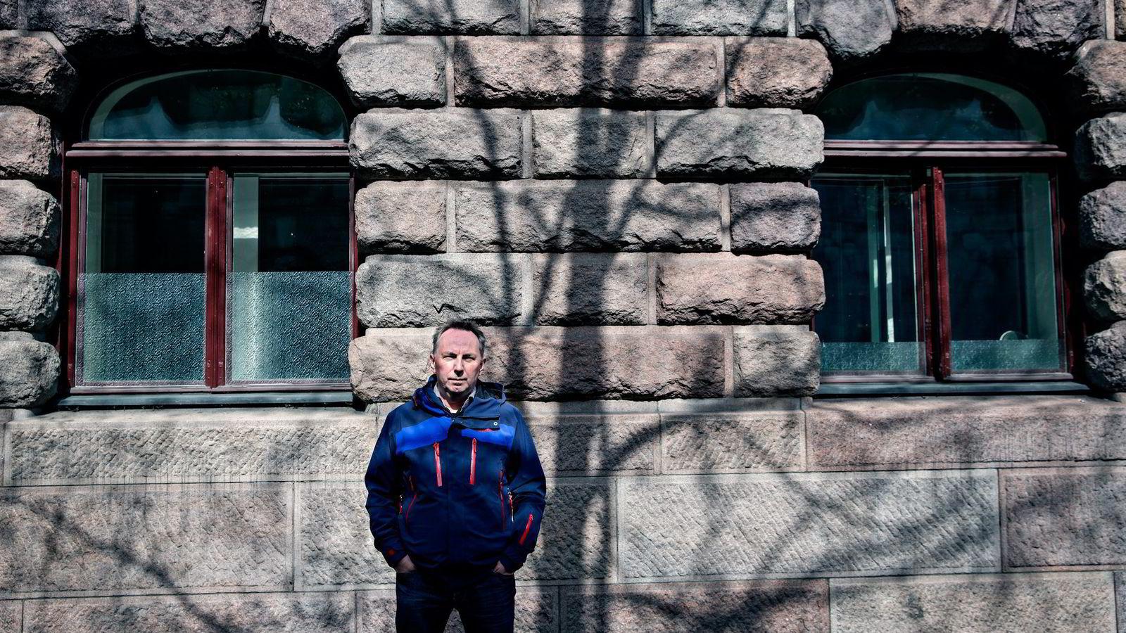 Styreleder i Skup, Jan Gunnar Furuly, må svare for pengestøtte til gravekonferansen på Lillehammer ifjor. Foto: Aleksander Nordahl