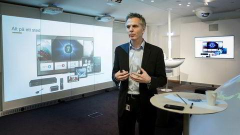 Administrerende direktør Ragnar Kårhus i Canal Digital.