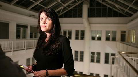 Administrerende direktør Anne-Kari Bratten i Spekter er fornøyd med at det ble enighet med Unio, Akademikerne og SAN i meklingen for LHL.