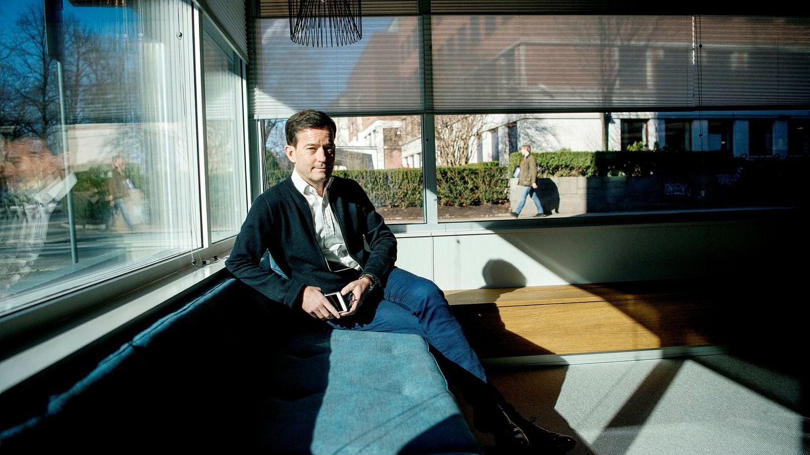 Trond Riiber Knudsen investerer i svært mange gründerselskaper, men følger aldri opp med nye penger.