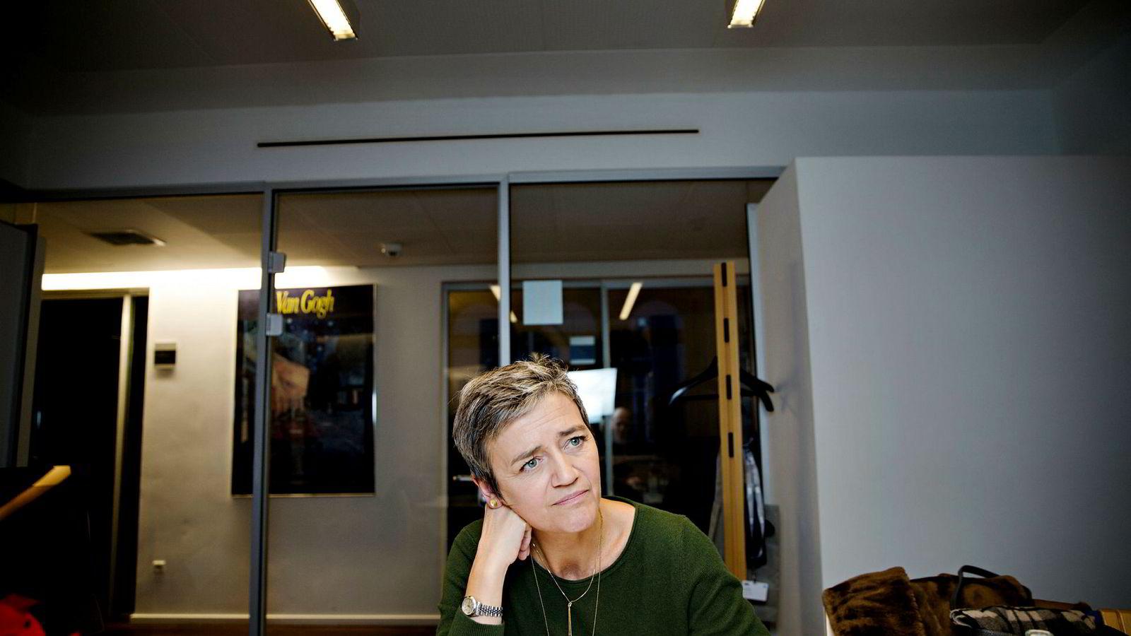 Margrethe Vestager, EUs konkurransekommissær.