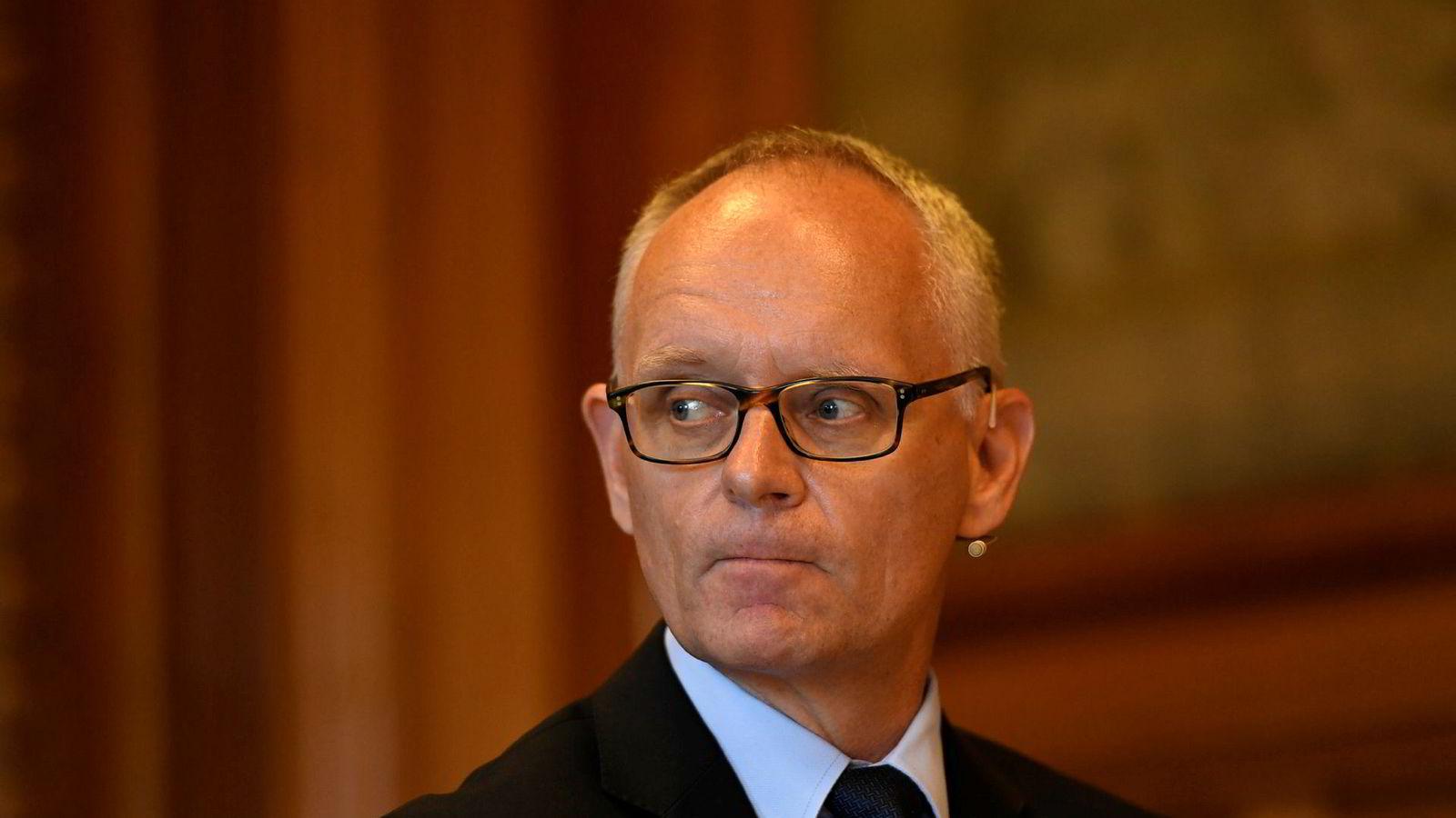 Administrerende direktør Anders Bouvin i Handelsbanken.