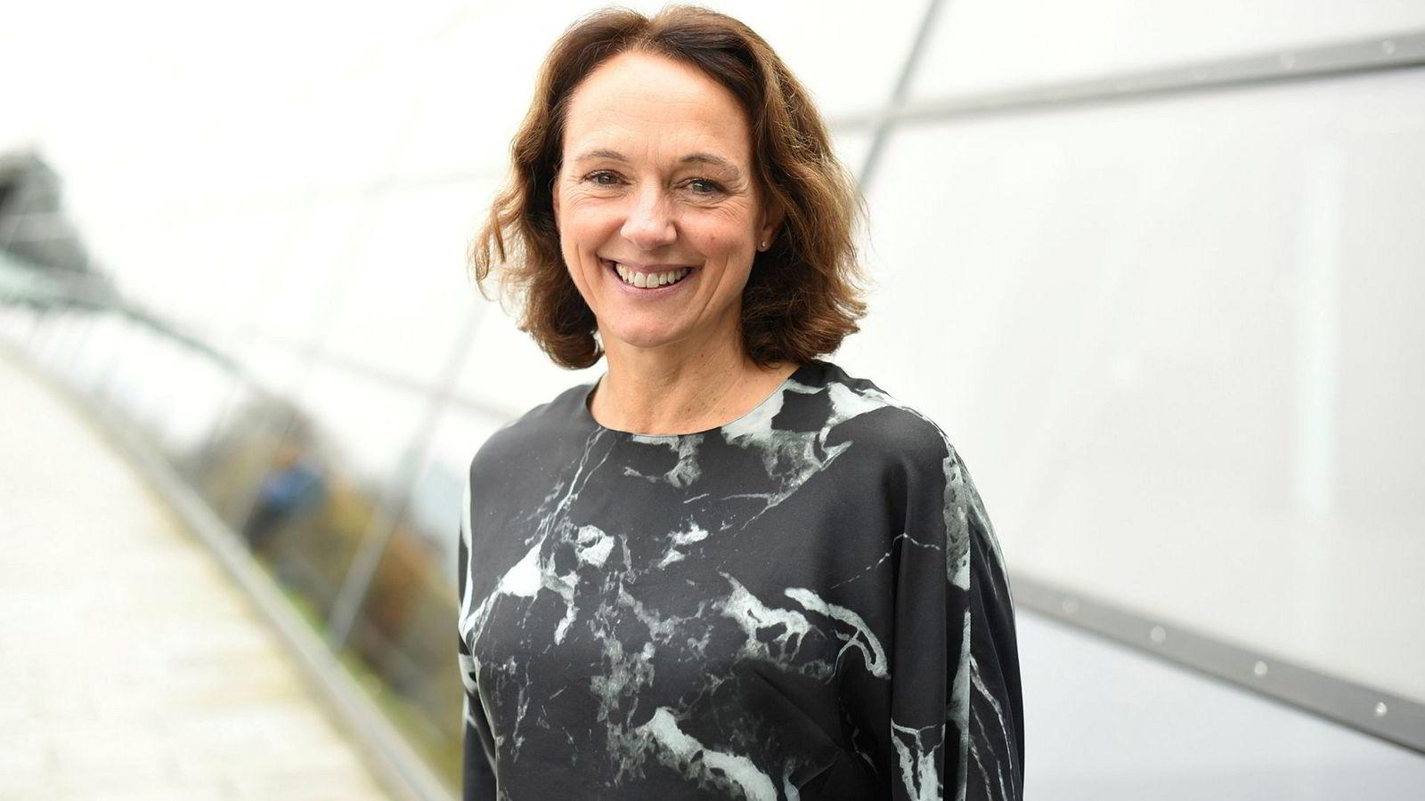 Birgit Bjørnsen er leder for tv og fastnett i Telenor Norge / Canal Digital Kabel.