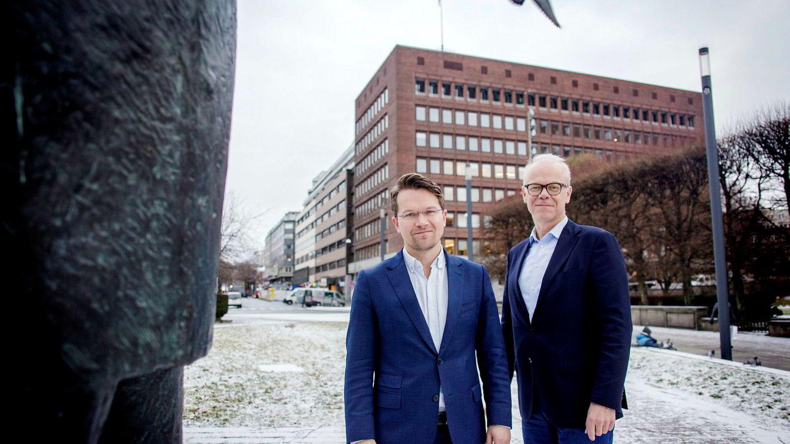 McKinsey-sjef Martin Bech Holte og Google-sjef Jan Grønbech har listen over fremtidens jobber som vil forsvinne klar. Stikkordene er farlig, forurensende og kjedelige jobber.