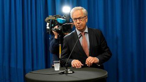 Sentralbanksjef Øystein Olsen er uenig med Finanstilsynet.