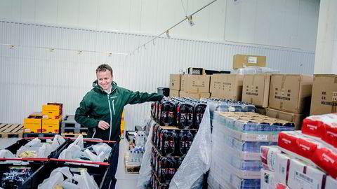 Ole Petter Wie, administrerende direktør i Marked.no, sier matvareleverandører ikke tør å gi konkurransedyktige betingelser. Foto: Fredrik Bjerknes