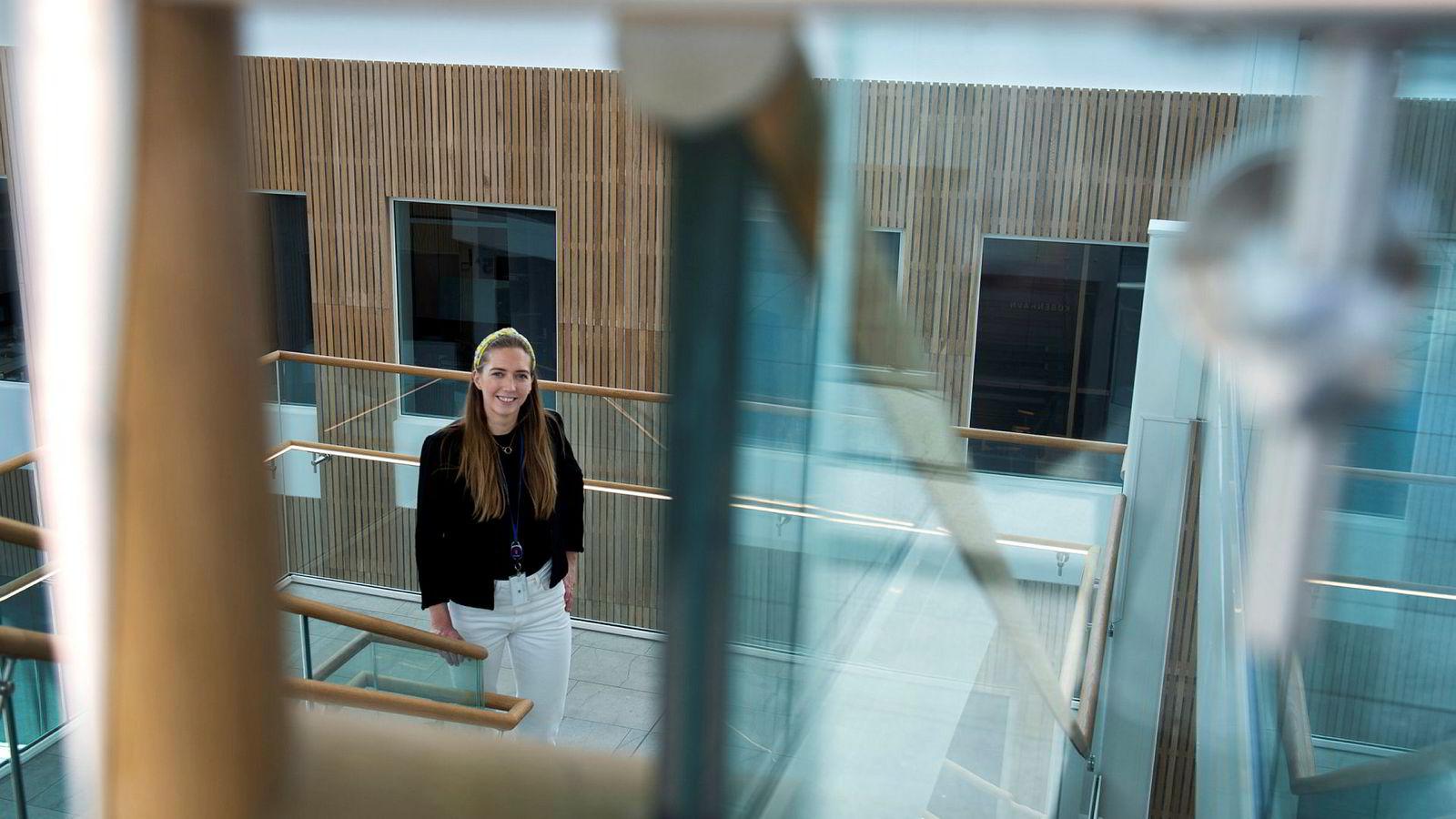 Marthe Øksnes (29) var ikke engang på utkikk etter ny jobb da hun kom over stillingsutlysningen til Kongsberg Digital på Linkedin. Det tok ikke mange dagene før hun fikk jobbtilbud.