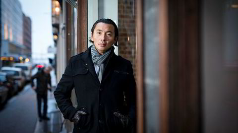 Olav Chen i Storebrand har vært i Kina denne uken for å føle på stemningen. - Folk er usikre, sier han.