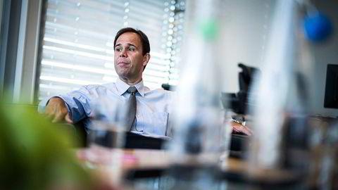 Luis Araujo er konsernsjef for Aker Solutions. Foto: Gunnar Blöndal