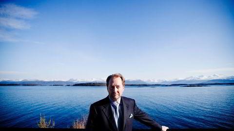 VIL BRUKE OFFSHORETEKNOLOGI. Kjell Inge Røkke og Aker søker om laksekonsesjoner samme med Norway Royal Salmon. Foto: Fartein Rudjord