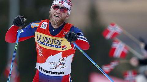 Martin Johnsrud Sundby har presset sine grenser de siste årene og sist vinter dominerte han fullstendig i verdenscupen. Foto: REUTERS/Alessandro Garofalo