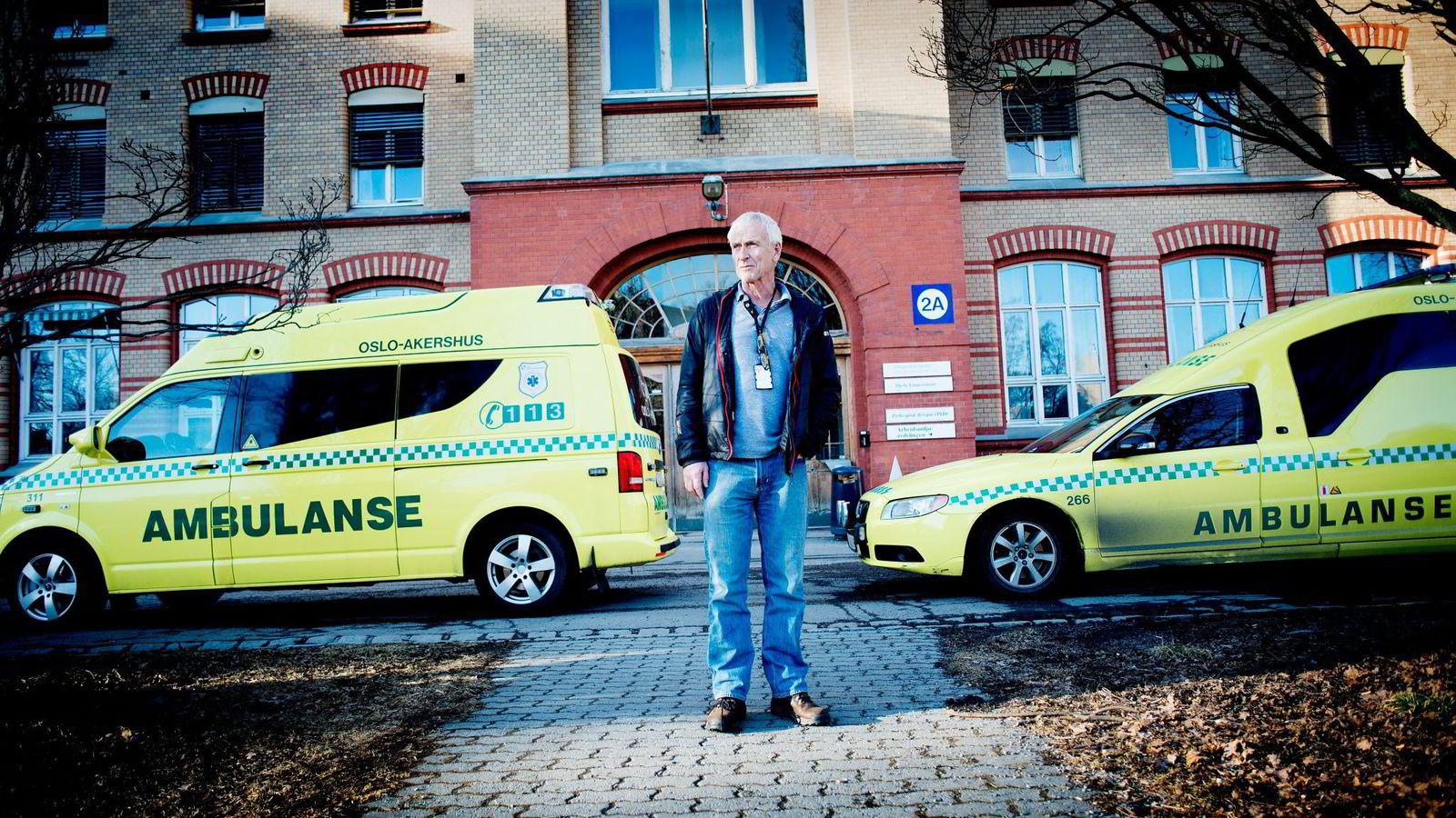 – Vi jobber iherdig for å forbedre oss, sier Terje Strand, leder for ambulansetjenesten på Oslo universitetssykehus.