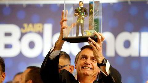Presidentkandidat Jair Bolsonaro.