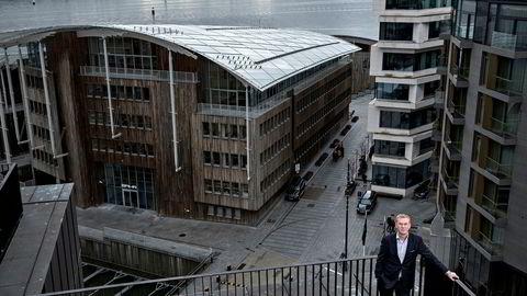 Administrerende direktør Dag Tjernsmo i Handelsbanken Norge sier han er litt overrasket over at boliglånsrentene har stått stille i vinter. Hvis bankenes finansiering ikke blir billigere, kan boliglånene bli dyrere før sommeren. Foto: Aleksander Nordahl