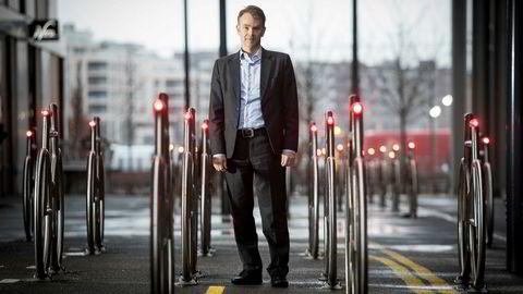 Finansdirektør Jorge Corneliussen i Agder Energi tror på en normalisering av de lange rentenivåene i løpet av noen år.