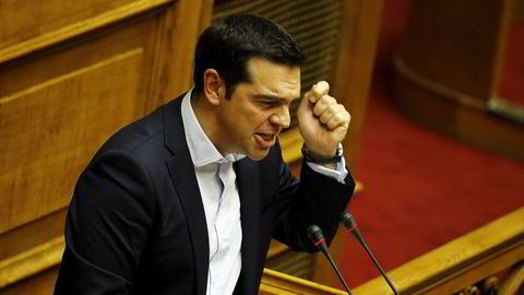 Hellas statsminister Alexis Tsipras. Foto: