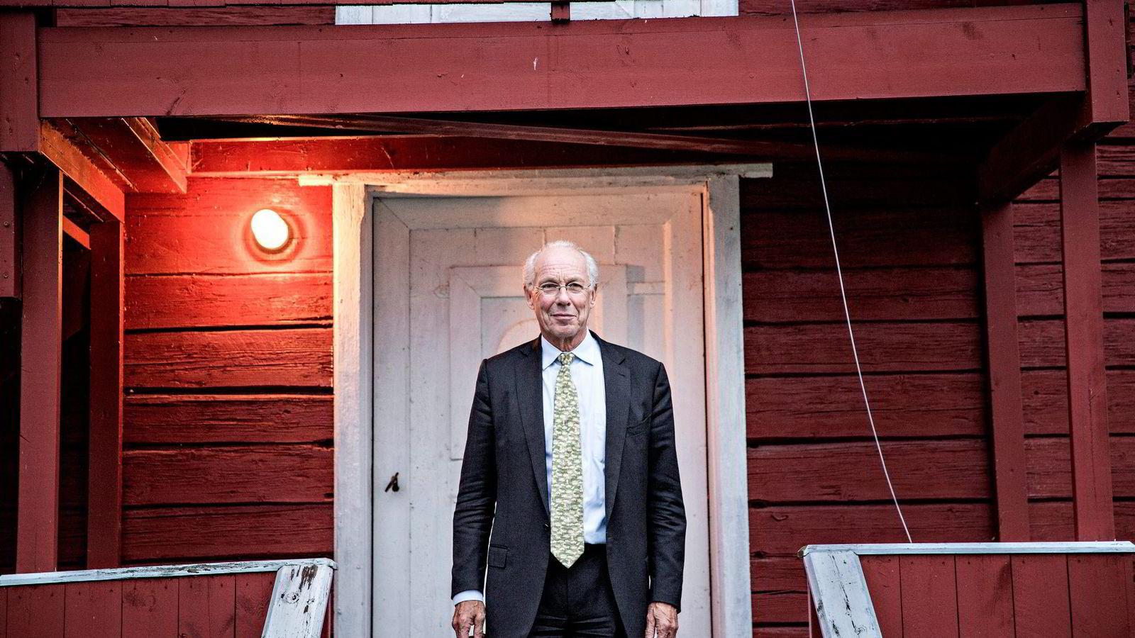 Jørgen Randers mener Miljøpartiet De Grønnes program henger på greip på tross av at det representerer et dramatisk brudd med etterkrigstidens monomane vektlegging av vekst. Foto: Aleksander Nordahl
