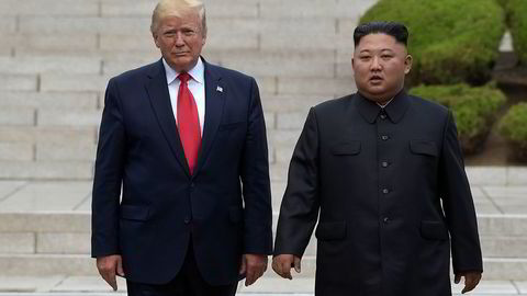 President Donald Trump, som møtte Kim Jong-un på grensa til Sør-Korea 30. juni, har fått et nytt brev fra den nordkoreanske lederen.