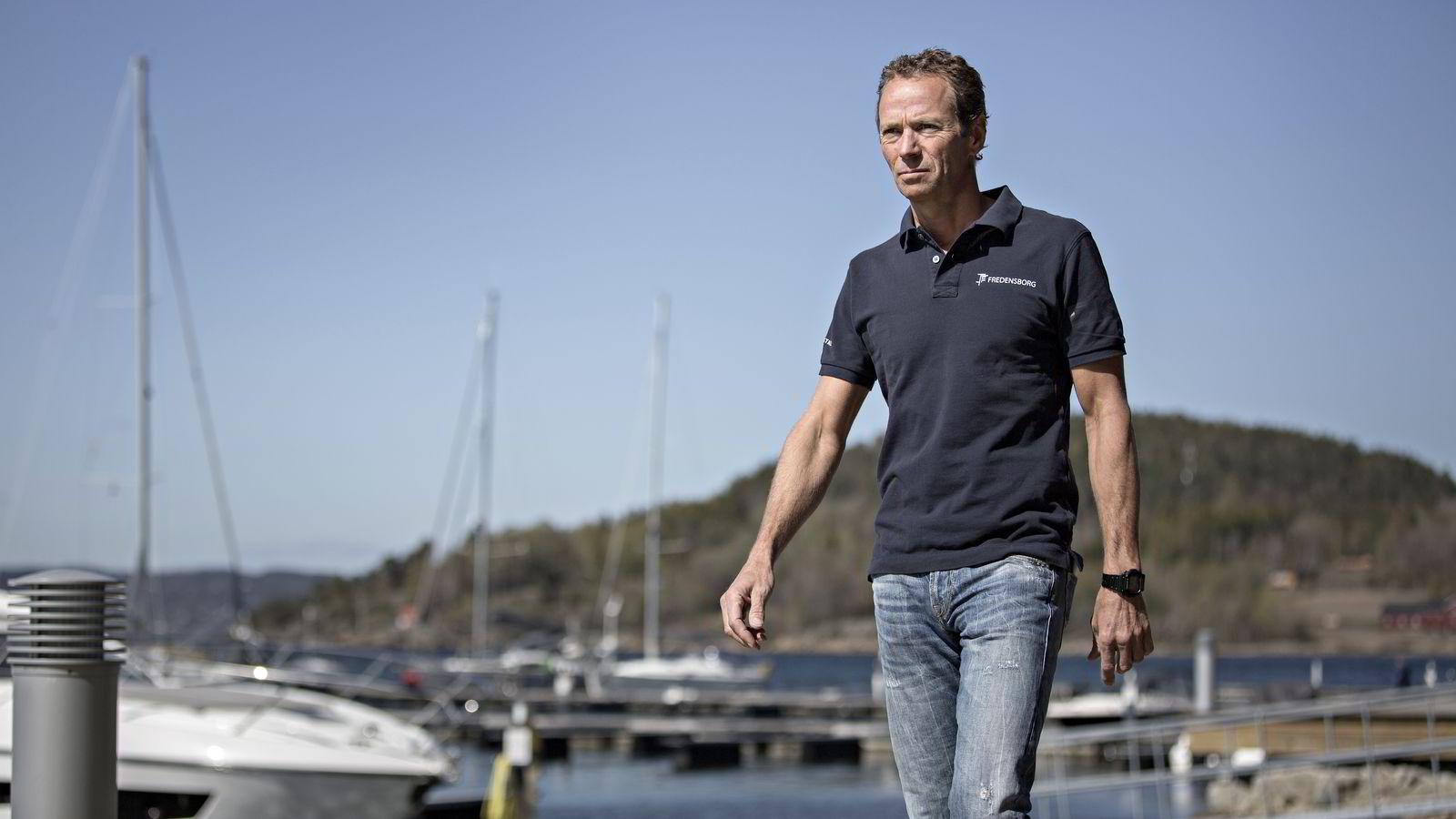 DELTE ERFARINGER. Eiendomsinvestor Ivar Tollefsen gjestet boligkonferanse på Quality Resort & Spa i Son. Foto: Aleksander Nordahl