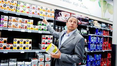 Nestlé rapporterer om et mer utfordrende dagligvaremarked. I fjor hadde selskapet den laveste veksten på flere år. Her er Vladimir Wendl Ibarra, daglig leder for Nestlé Norge. Foto: Mikaela Berg