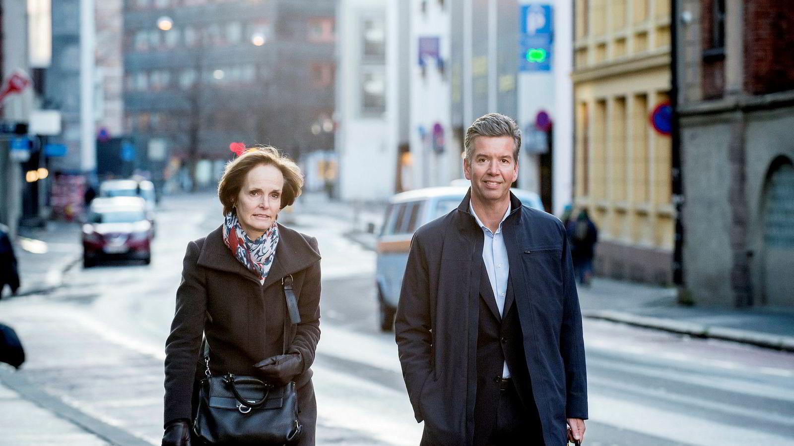Styreleder Anette Olsen og styremedlem Richard Olav Aa trekker seg begge i dag klokken 09.00.