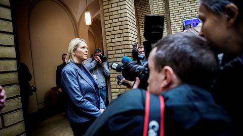 Justis- og innvandringsminister Sylvi Listhaug kan utløse regjeringskrise takket være et Facebook-innlegg.