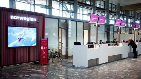 Hendelsen fant sted ved Norwegians billettkontor på Gardermoen tidligere i år.