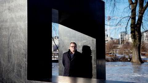 – Vi har ikke hatt den veksten vi er vant med, sier Morten Fon, konsernsjef i Jotun. Foto: Elin Høyland