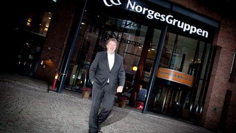 Norgesgruppens konsernsjef Tommy Korneliussen presenterer sterke halvårstall med et overskudd på 1,3 milliarder kroner før skatt