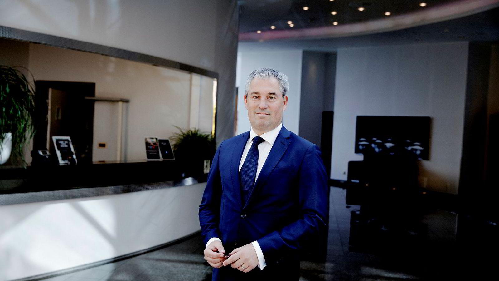 – Granskningen hindrer selskapet i å komme videre, sier Diederik Legger, fungerende konsernsjef i Oceanteam.